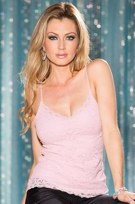 9020store STRETCH LACE CAMISOLE