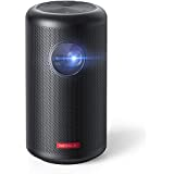Anker Nebula Capsule, Smart Wi-Fi Mini Projector, Black, 100 ANSI Lumen Portable Projector, 360° Speaker, Movie Projector, 100 Inch Picture, 4-Hour Video Playtime, Neat Projector, Home Entert