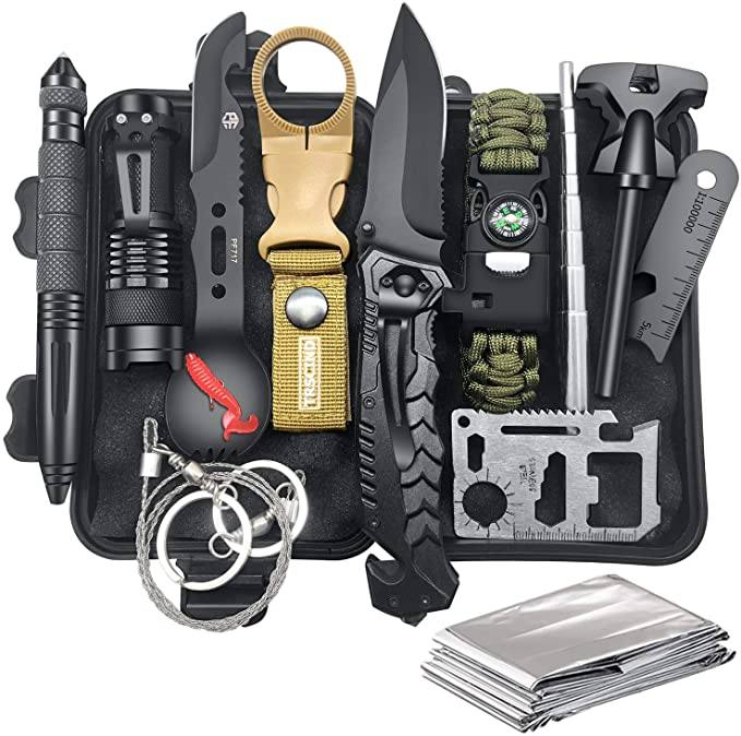 9020store Survival Gear and Equipment 12 in 1