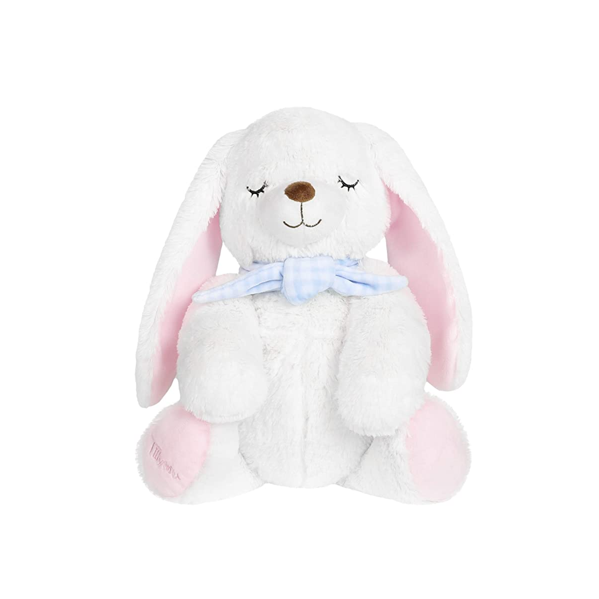 9020store Soft Plush Stuffed Rabbit, Bunny Stuffed Animals for Girls Toddlers Kids (White, 10 inches Sitting Height)