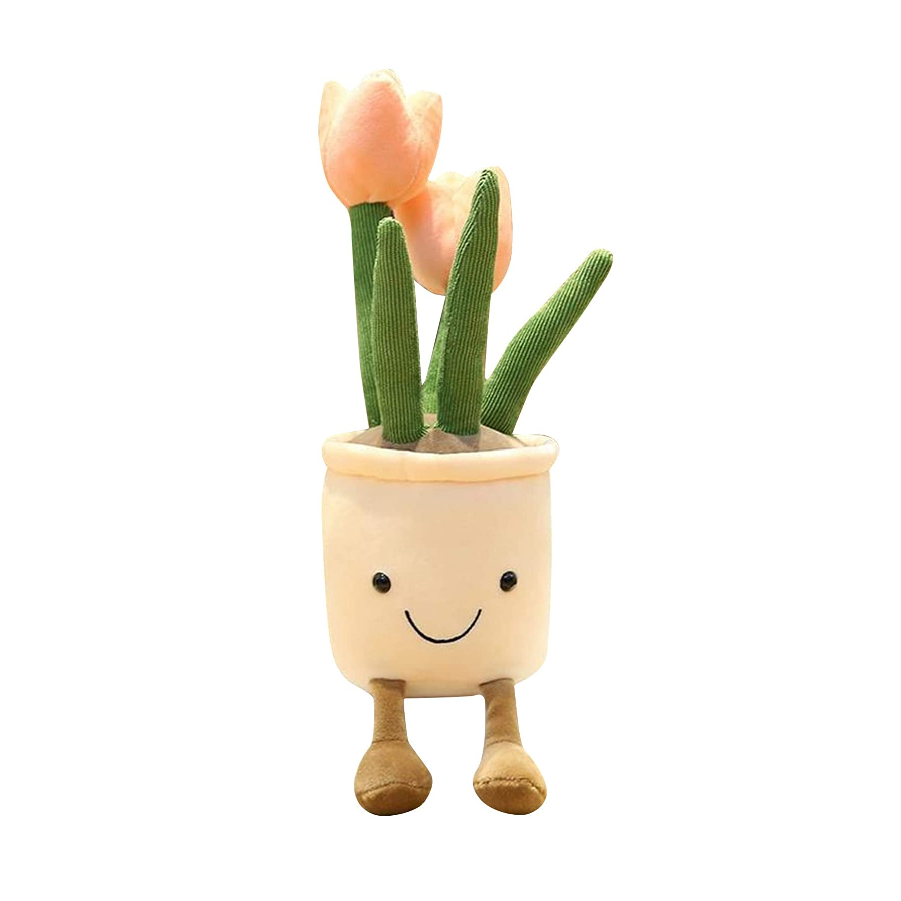 9020store Potted Plants Plush Flower Toy Doll, Cute Tulip Plushies, Stuffed Animal, Adorable Soft Plush Flowers, Gifts Toy for Kids Boys Girls All Ages, 13.7""