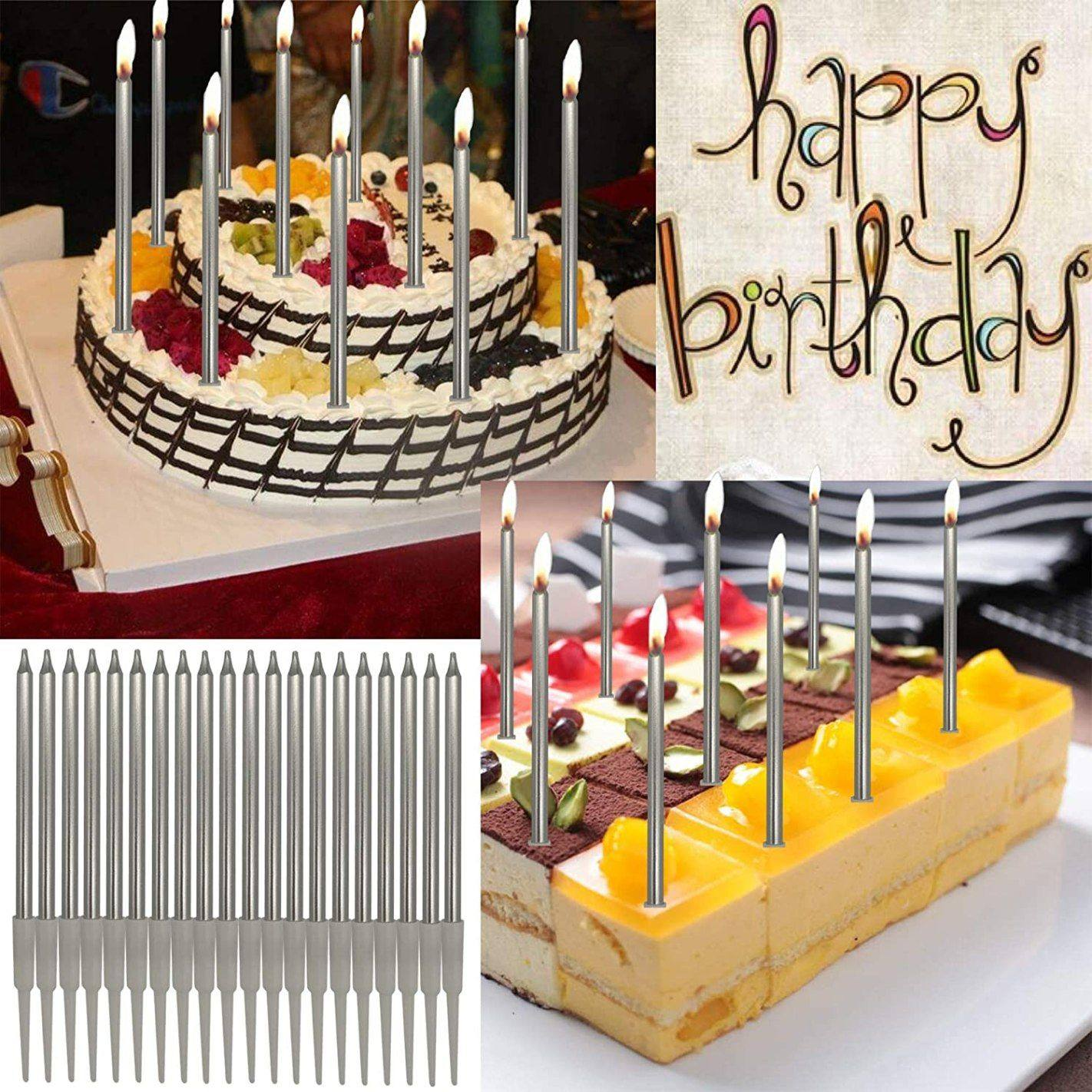 Amazon: PASSDIGY 24 Pieces Birthday Cake Candles ONLY $4.49 (Reg. $8.99)