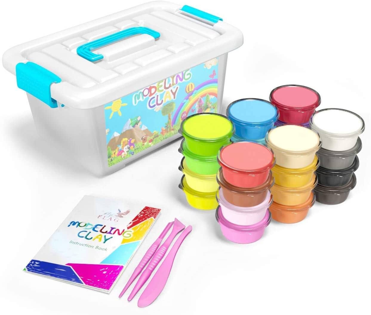 Amazon: FlyFlag Modeling Clay – 36 Colors ONLY $9.00