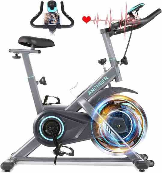 Amazon: Indoor Exercise Bike Stationary with Tablet Holder and LCD Monitor for ONLY $204.99 W/Code (Reg. $409.99)