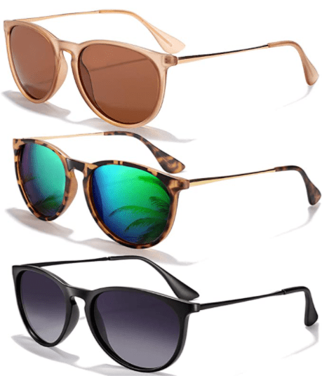 Amazon: Polarized Sunglasses 3-Pack for ONLY $19.98 (Reg. $24)