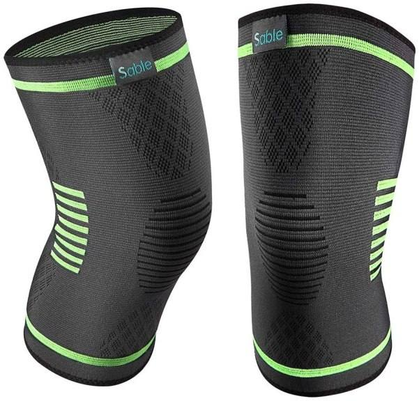 Amazon: 2 Pack Compression Knee Braces for $3.99