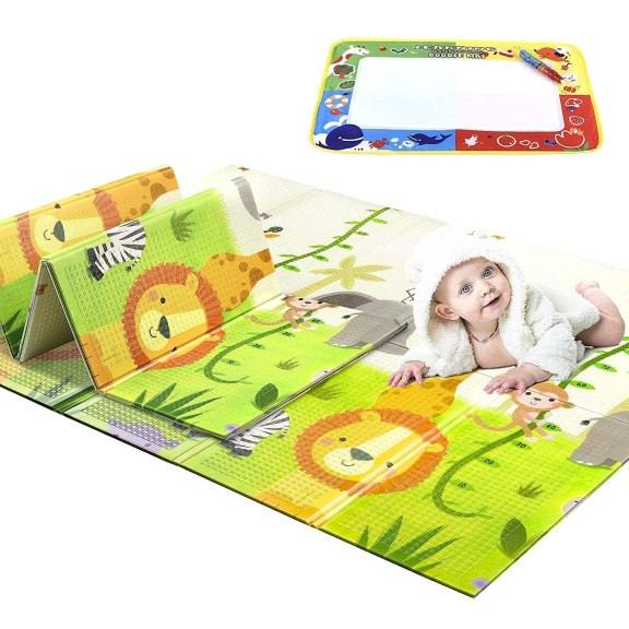 Amazon: Reversible Foldable Baby Play Mat for ONLY $39.99 W/Code (Reg. $79.99)