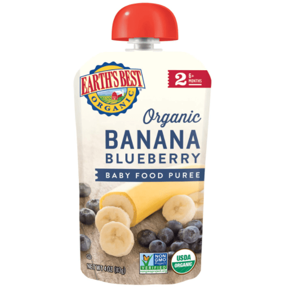 Amazon: Earth's Best Organic Stage 2 Baby Food $1.59