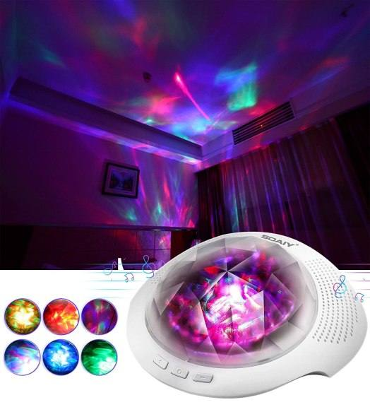 Amazon: Galaxy Projector with LED Nebula Cloud, Sky Lights with Remote Just $27.19 (Reg. $33.89)