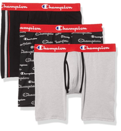 Amazon: Men's Everyday Comfort Cotton Stretch Boxer Briefs 3-Pack for only $9.60 (Reg: $32)