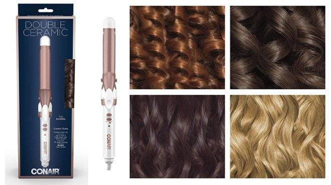 Amazon: Conair Double Ceramic 1-Inch Curling Iron ONLY $9.77 (Reg $17)