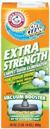 Amazon: Arm & Hammer Extra Strength Odor Eliminator for Carpet and Room, 30 Ounce for only $1.64 (Reg: $7)
