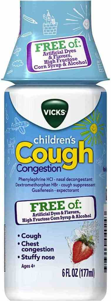 Amazon: Vicks Children's, Day Cough & Congestion Relief for only $4.23 (Reg: $10.49)
