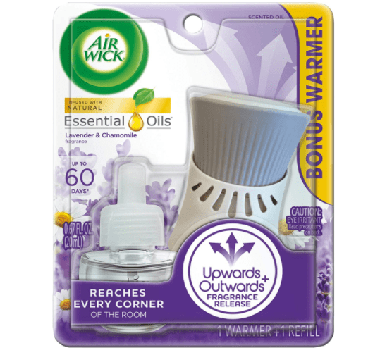 Amazon: Air Wick plug-in Scented Oil, Starter Kit JUST $2.97