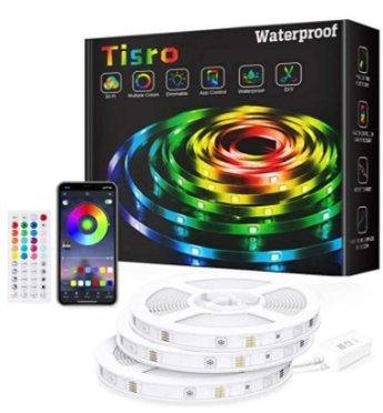 Amazon: 50Ft Music Sync RGB Color Changing Led Light Strips for $14.00 (Reg. Price $39.99) after code!