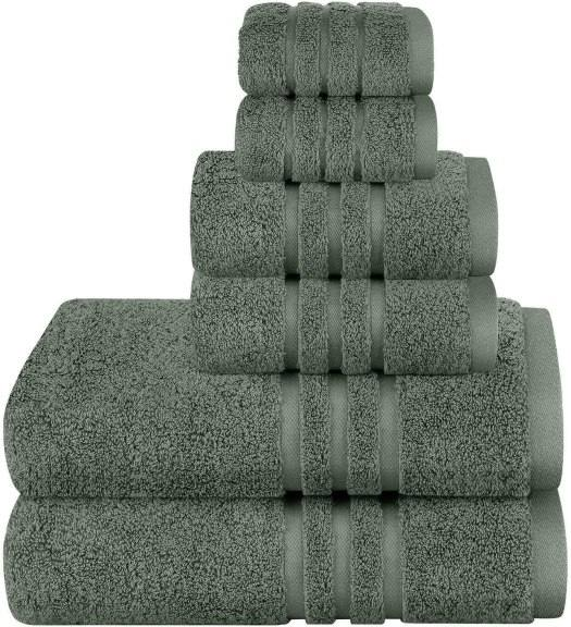 Amazon: Towels Set 6 Pieces for only $15.99 (Reg: $35.99)