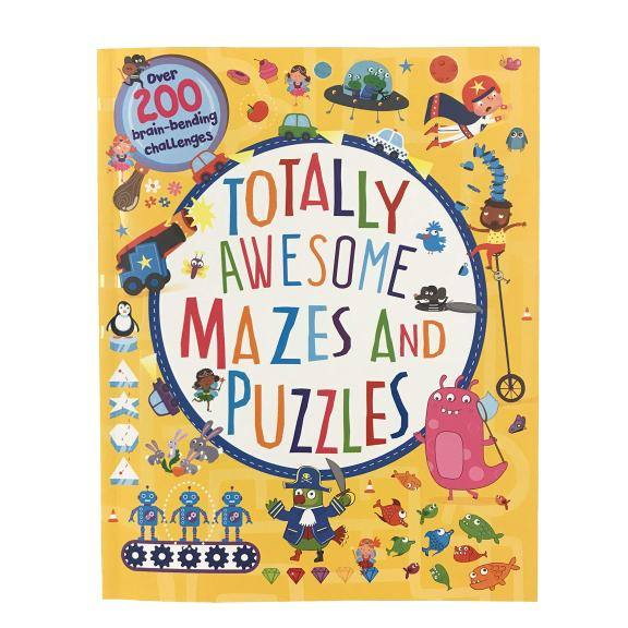 Amazon: Totally Awesome Mazes and Puzzles: Over 200 Brain-bending Challenges Paperback for only $5.99 (Reg: $12.99)