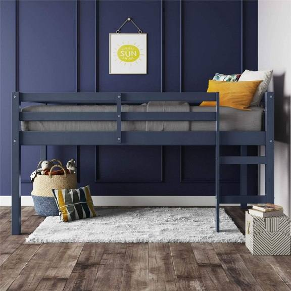 Amazon: Junior Twin Loft Bed, Blue for only $99.97 (Reg: $169.99)