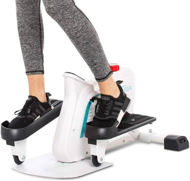 Amazon: ANCHEER Elliptical Machines with Built-in Display Monitor for ONLY $114.99 W/Code (Reg. $229.99)