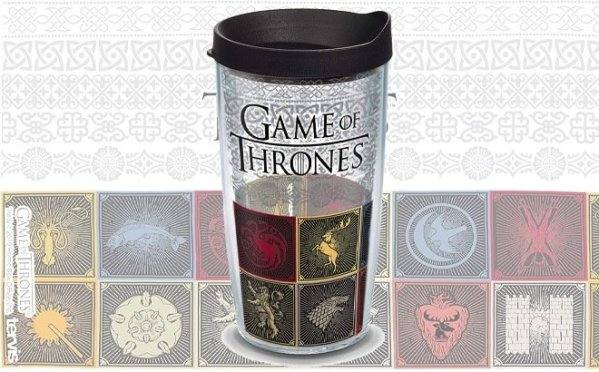Amazon: Game of Thrones – Tumbler with Wrap & Lid, 16 oz – Tritan, Clear for only $10.25 (Reg: $16.99)