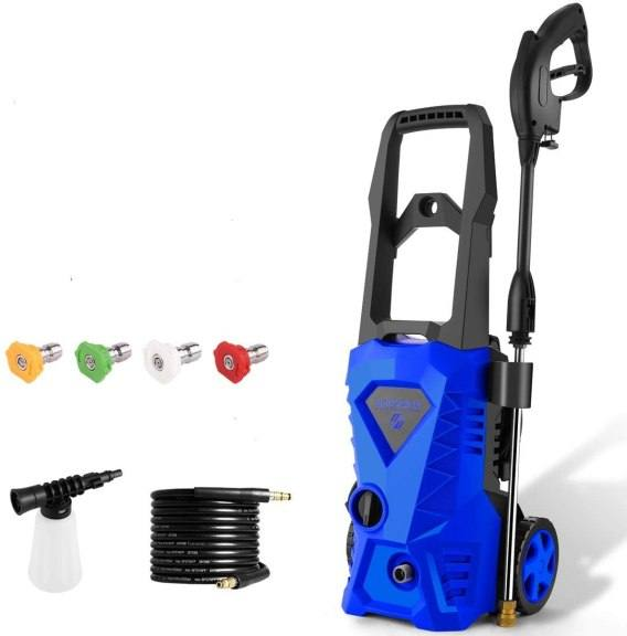 Amazon: WHOLESUN 3000 PSI Electric Pressure Washer 1.8GPM for ONLY $103.996 W/Code (Reg. $259.99)