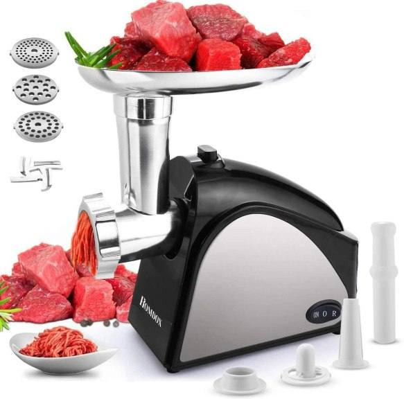 Amazon: Homdox 2000W Electric Meat Grinder for ONLY $54.00 W/Code (Reg. $107.99)